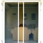 มุ้งลวดแบบประตูเลื่อนมุ้งม้วนจีบหน้าบ้าน